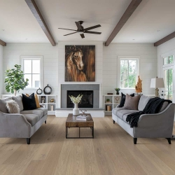 Valinge - Woodura Hardened Wood Flooring | Misty White Oak - Room View
