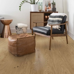 Valinge - Woodura Hardened Wood Flooring | Natural Oak - Room View