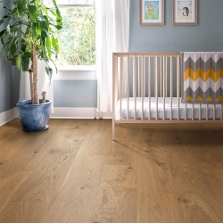 Valinge - Woodura Hardened Wood Flooring | Honey Oak - Room View