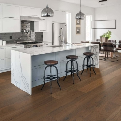 Valinge - Woodura Hardened Wood Flooring | Medium Smoked Oak - Room View