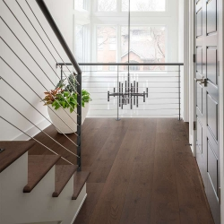 Valinge - Woodura Hardened Wood Flooring | Hard Smoked Oak - Room View