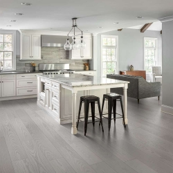 Valinge - Woodura Hardened Wood Flooring | Earth Grey Ash - Room View