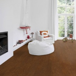 Wicanders Cork Essence Floating Cork Flooring in Flock Chestnut