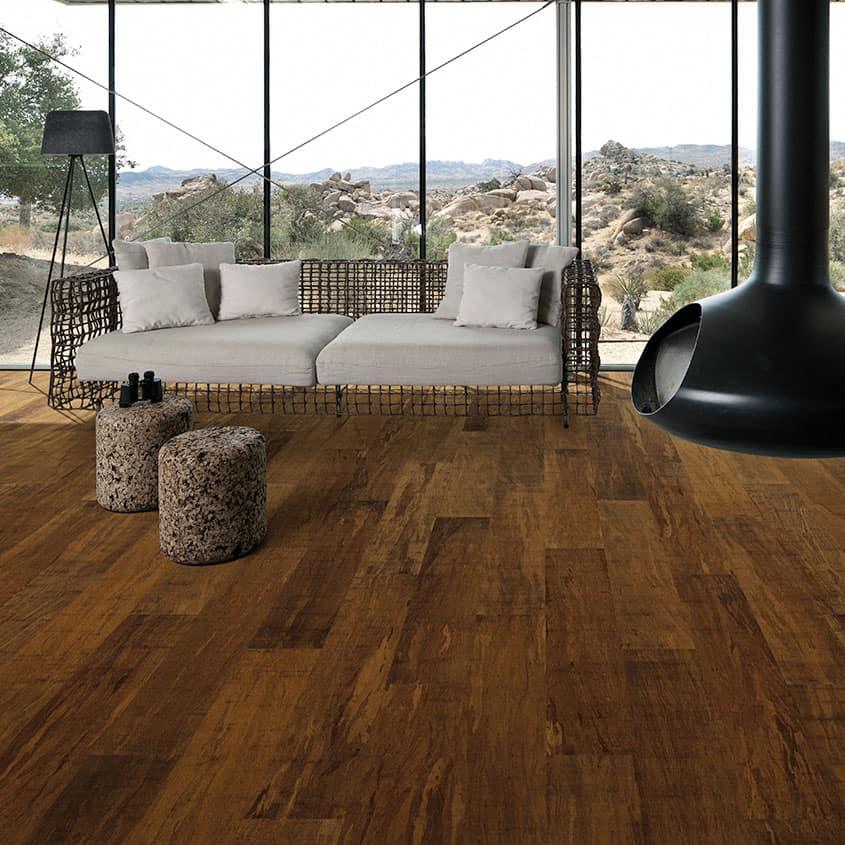 Teragren Portfolio Naturals T+G Strand Woven Bamboo Flooring | Chestnut