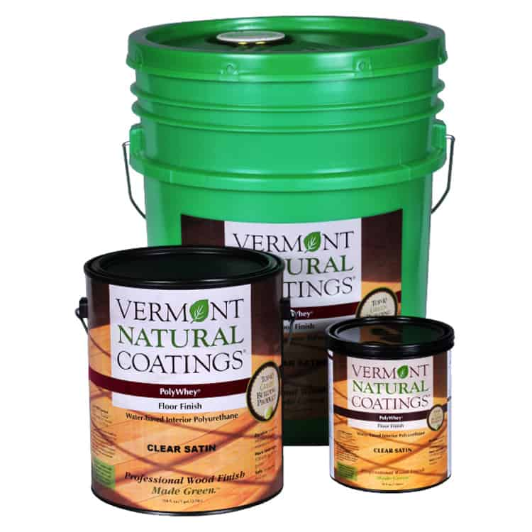 Vermont Natural Coatings Polywhey Floor Finish Green