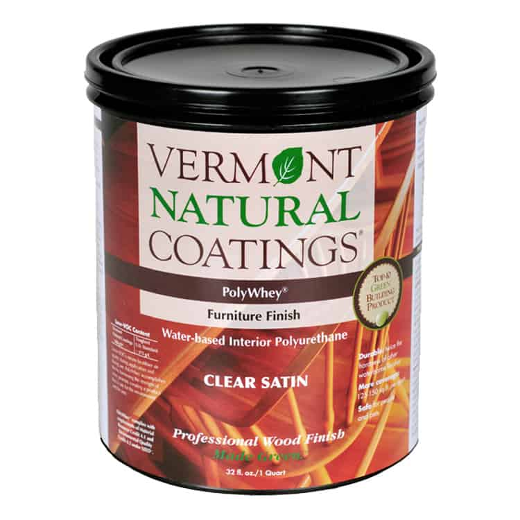 Vermont Natural Coatings | PolyWhey Furniture Finish
