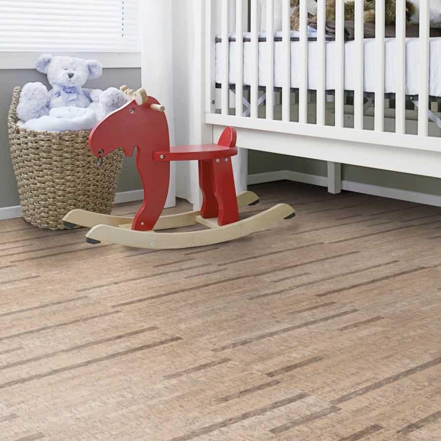 Cork Flooring High Humidity: Wicanders Cork Essence In Linn Blush