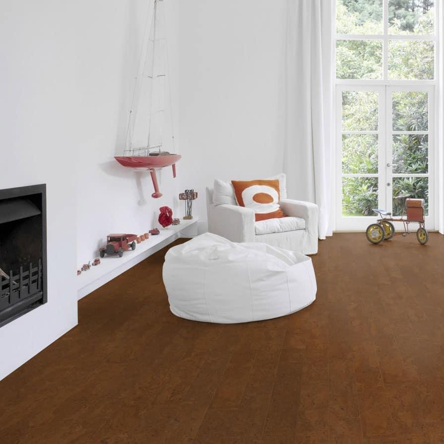 Cork Flooring High Humidity: Wicanders Cork Essence In Flock Chestnut