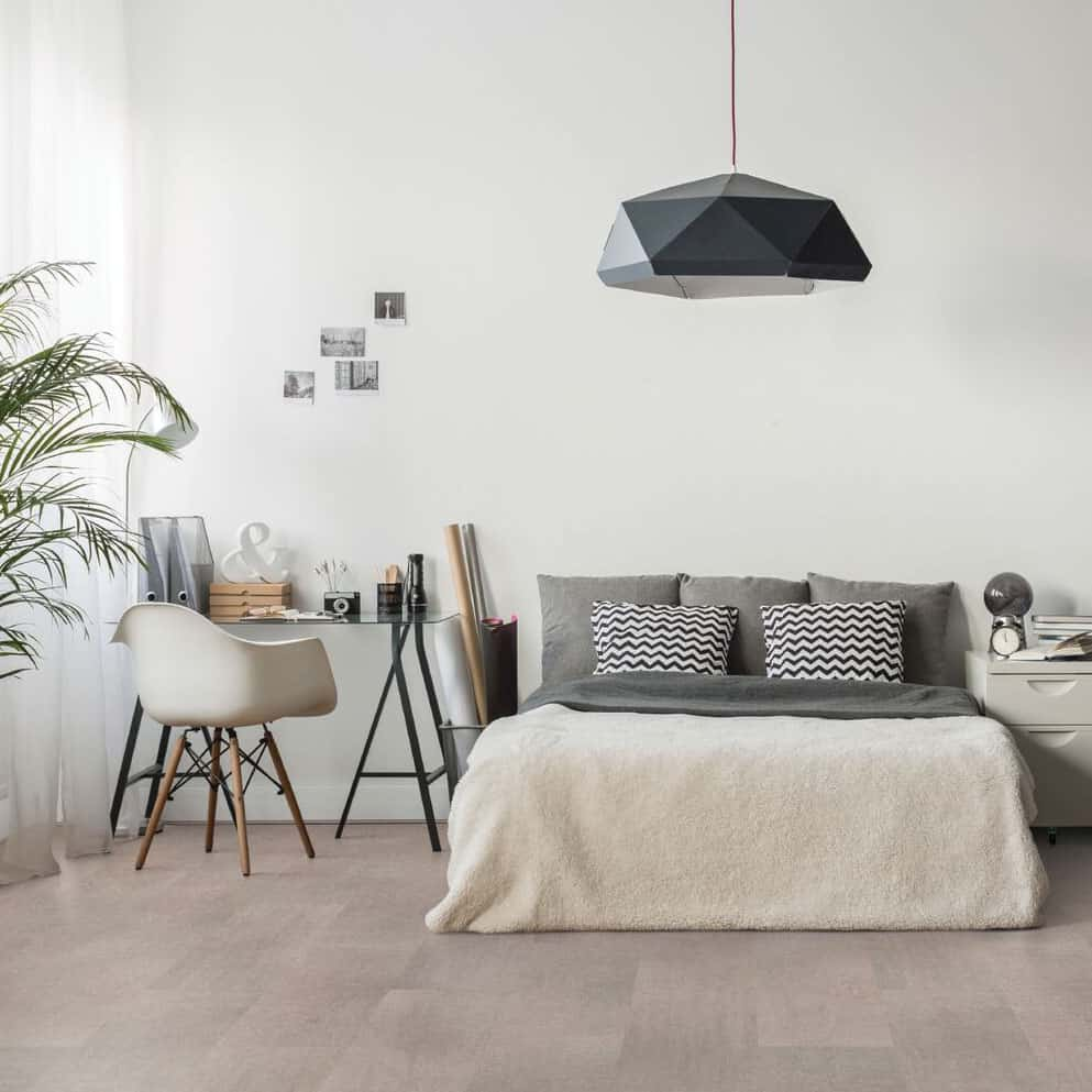 Cork Flooring High Humidity: Wicanders Cork Essence In Fashionable Cement