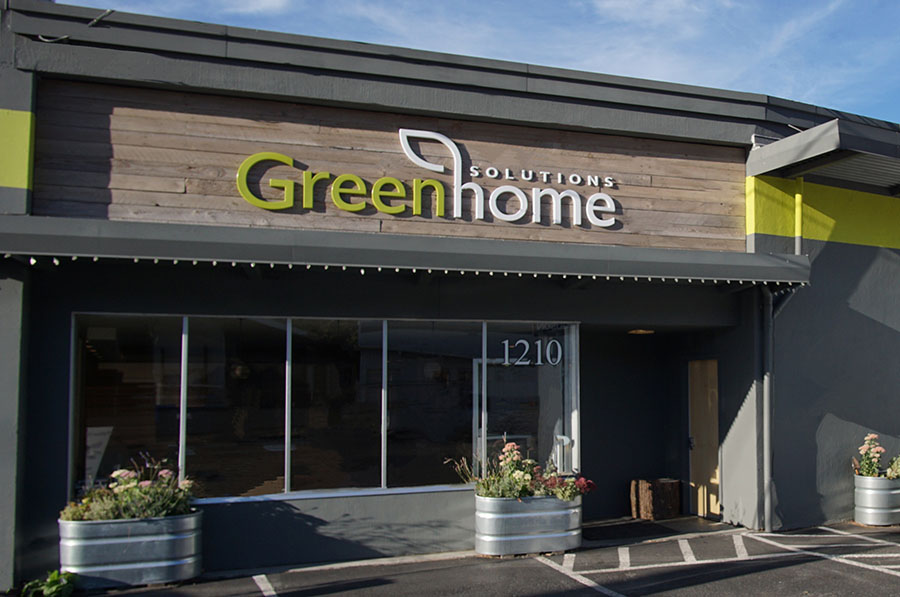 Greenhome Solutions' Seattle showroom located at 1210 W Nickerson Street, Seattle WA 98119.